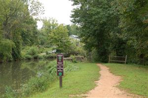 Haw River Trail Path