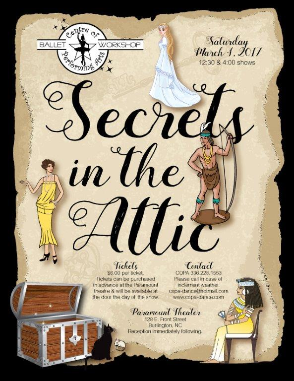 secrets in the attic poster