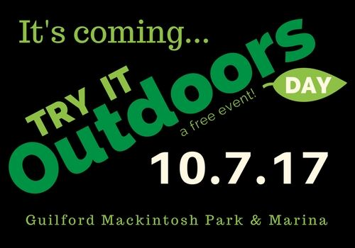 Try It Outdoors Day - Its Coming