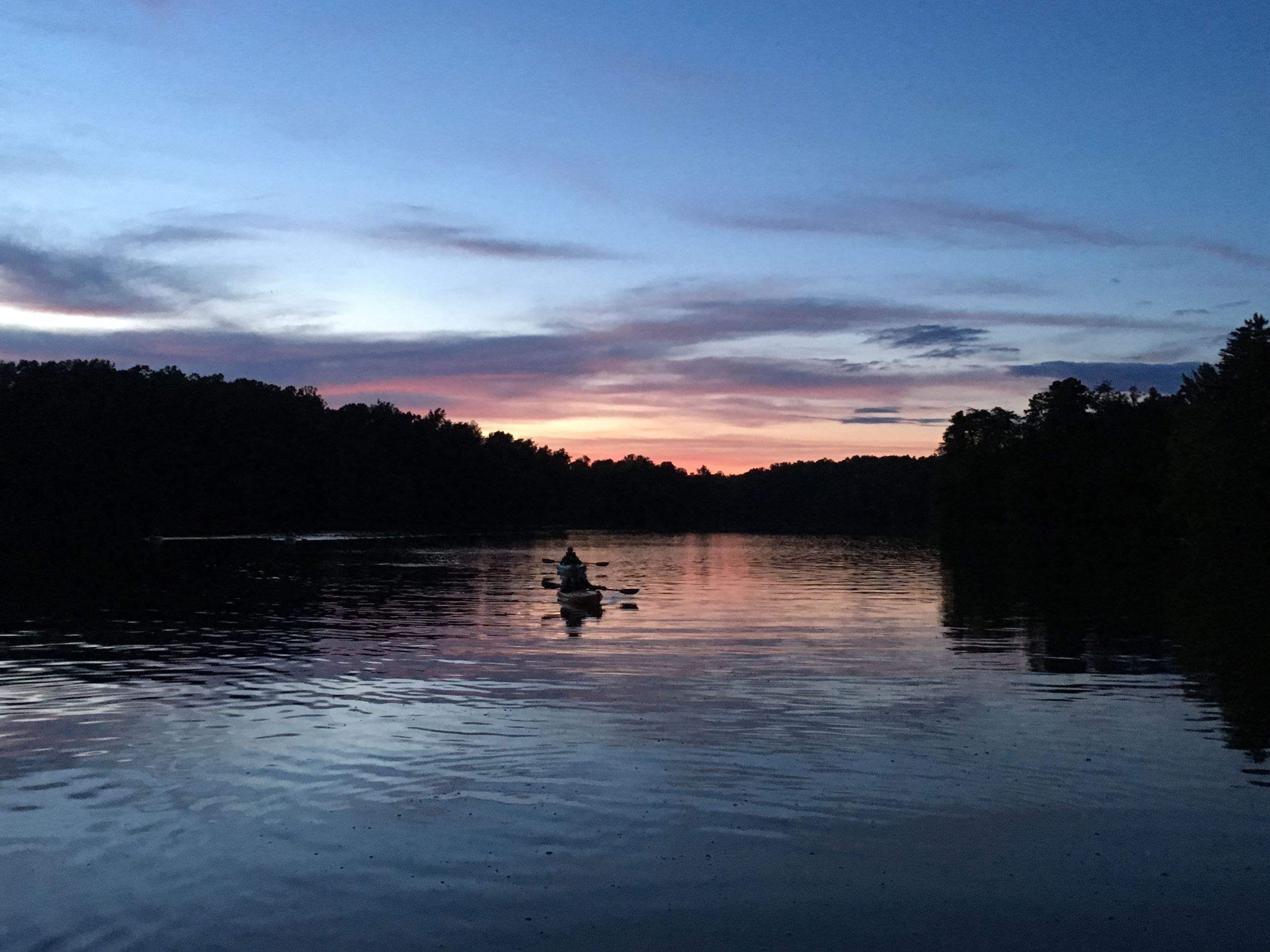Sunset Paddle at Stoney Creeek
