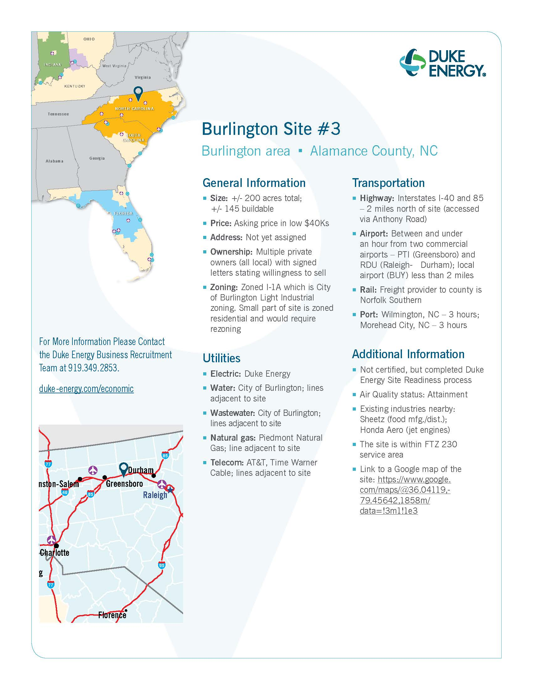 NC Alamance County Burlington Site 3_Page_1