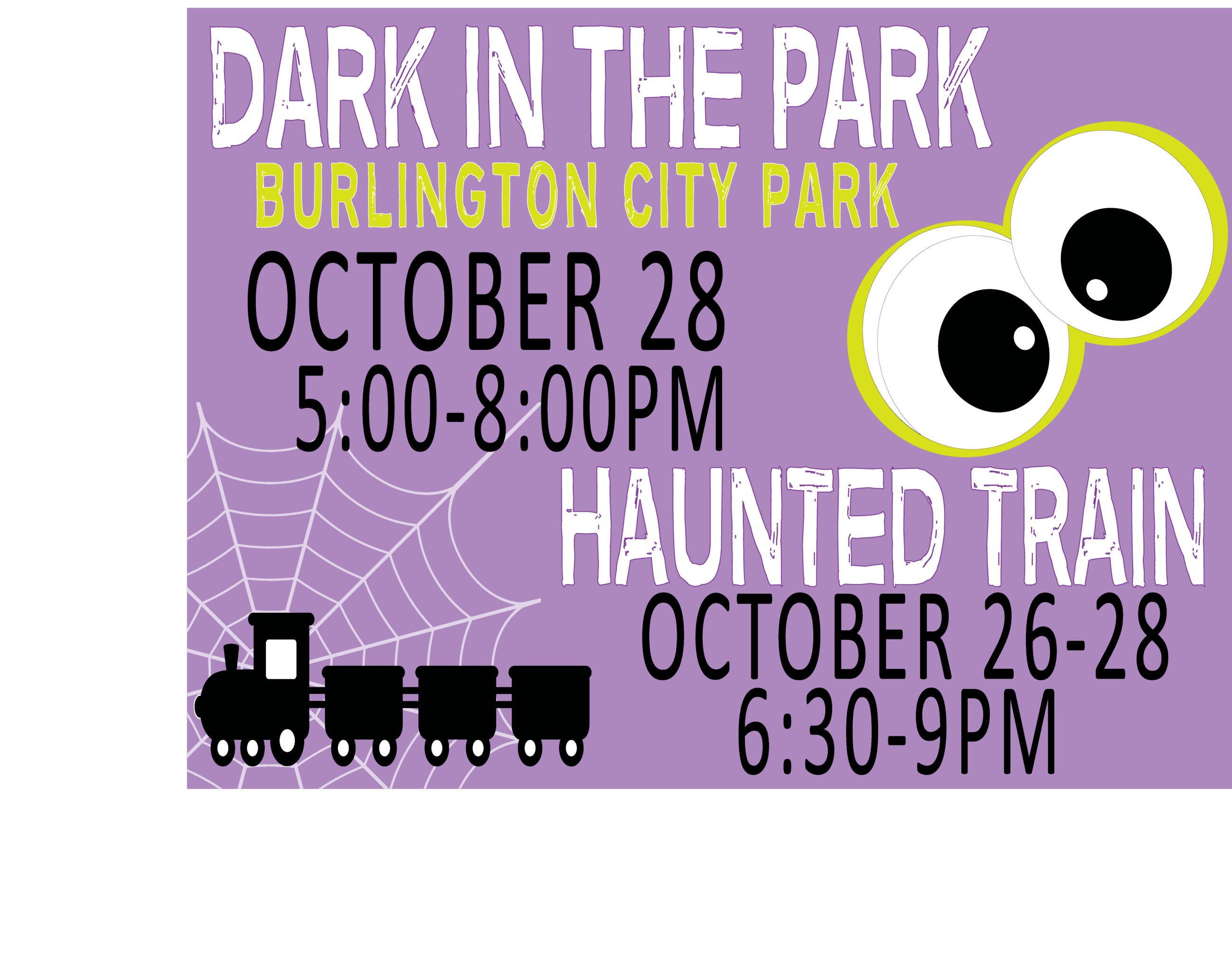 DITP and Haunted Train Graphic