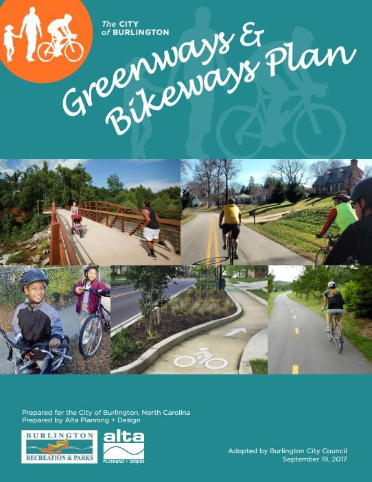 Burlington Greenway & Bikeway Plan