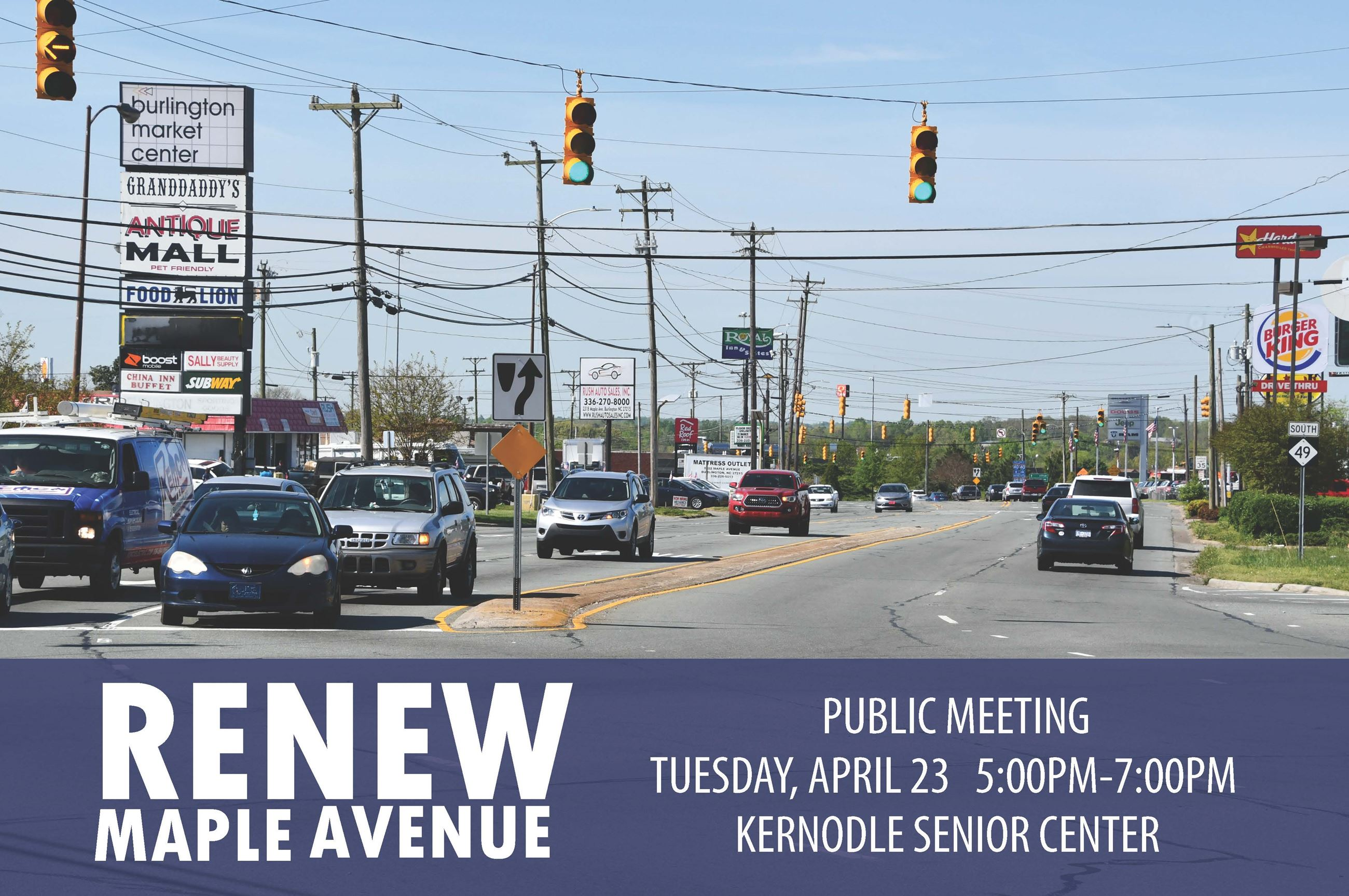 Renew Maple Avenue Newsflash