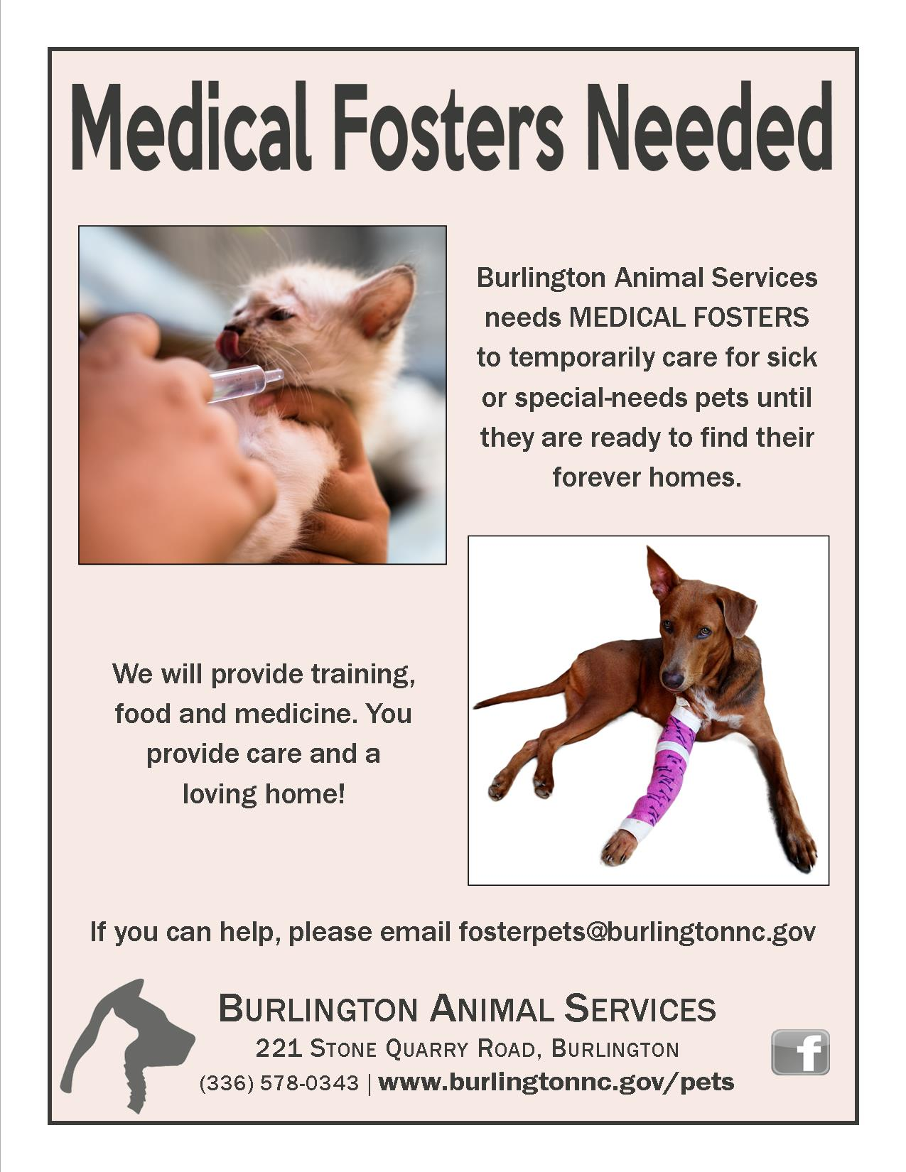 Medical fosters Oct. 2019