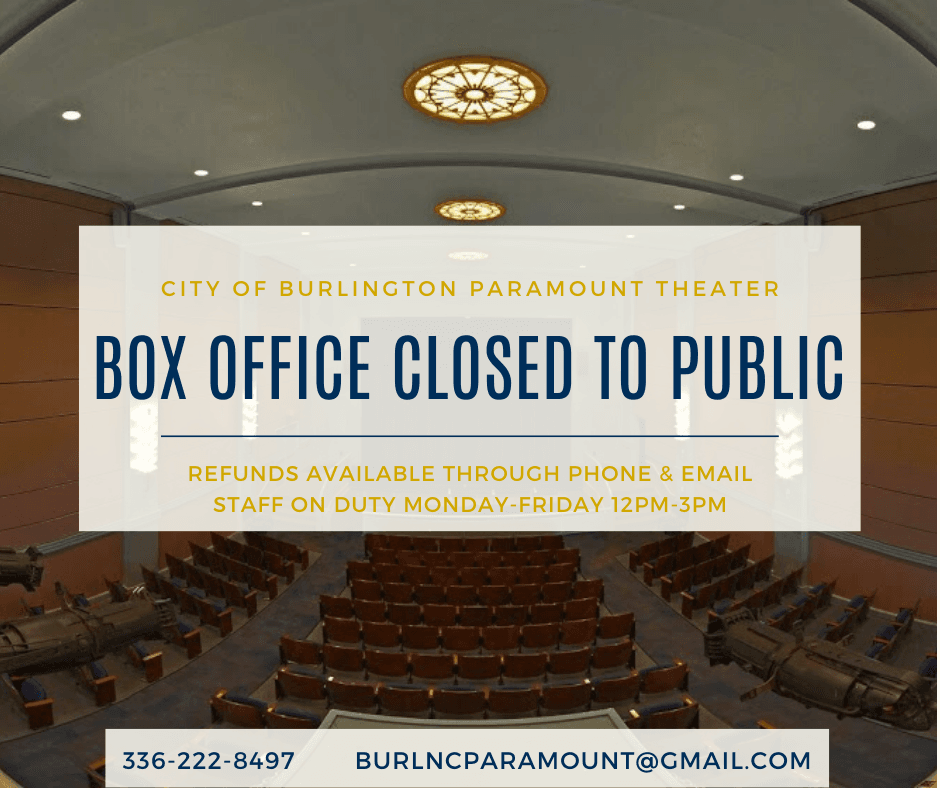 Copy of BOX OFFICE CLOSED - staff hours