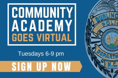 Community Academy Goes Virtual Tuesdays 6-9 pm Sign Up Now