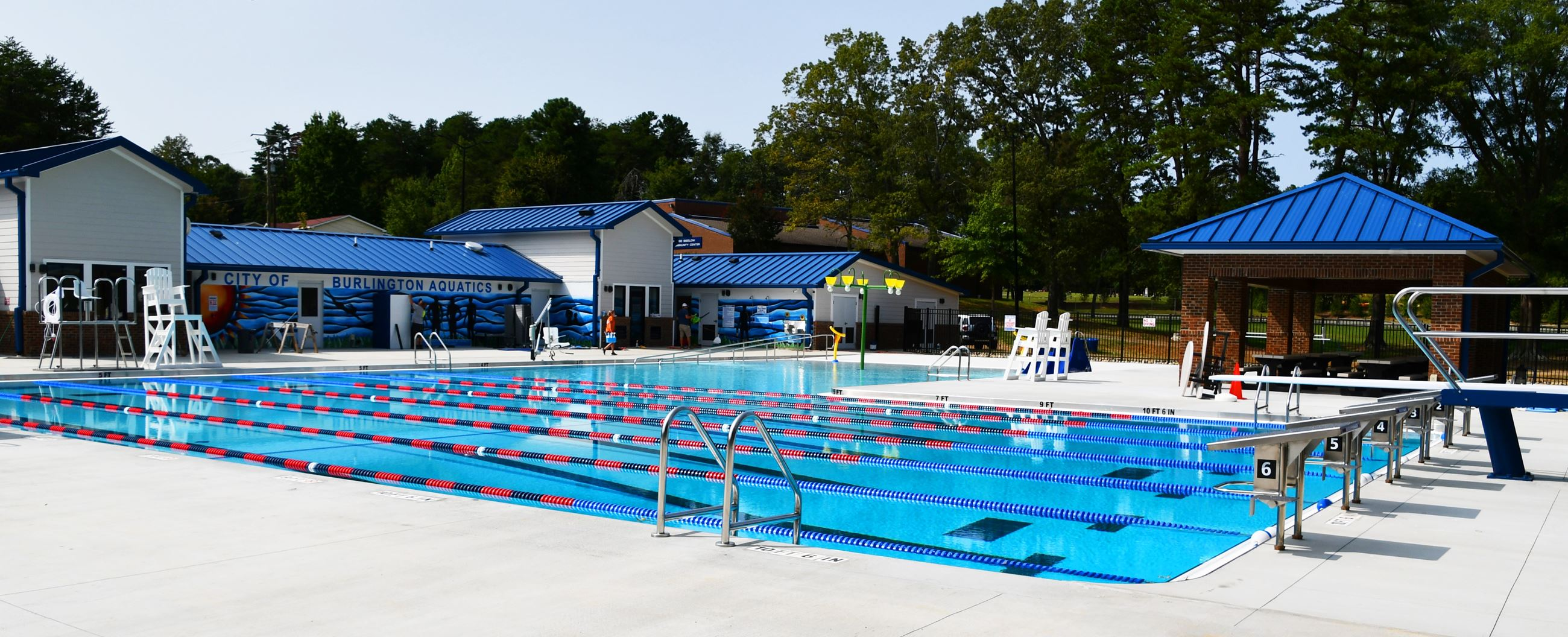 North Park Pool Deck