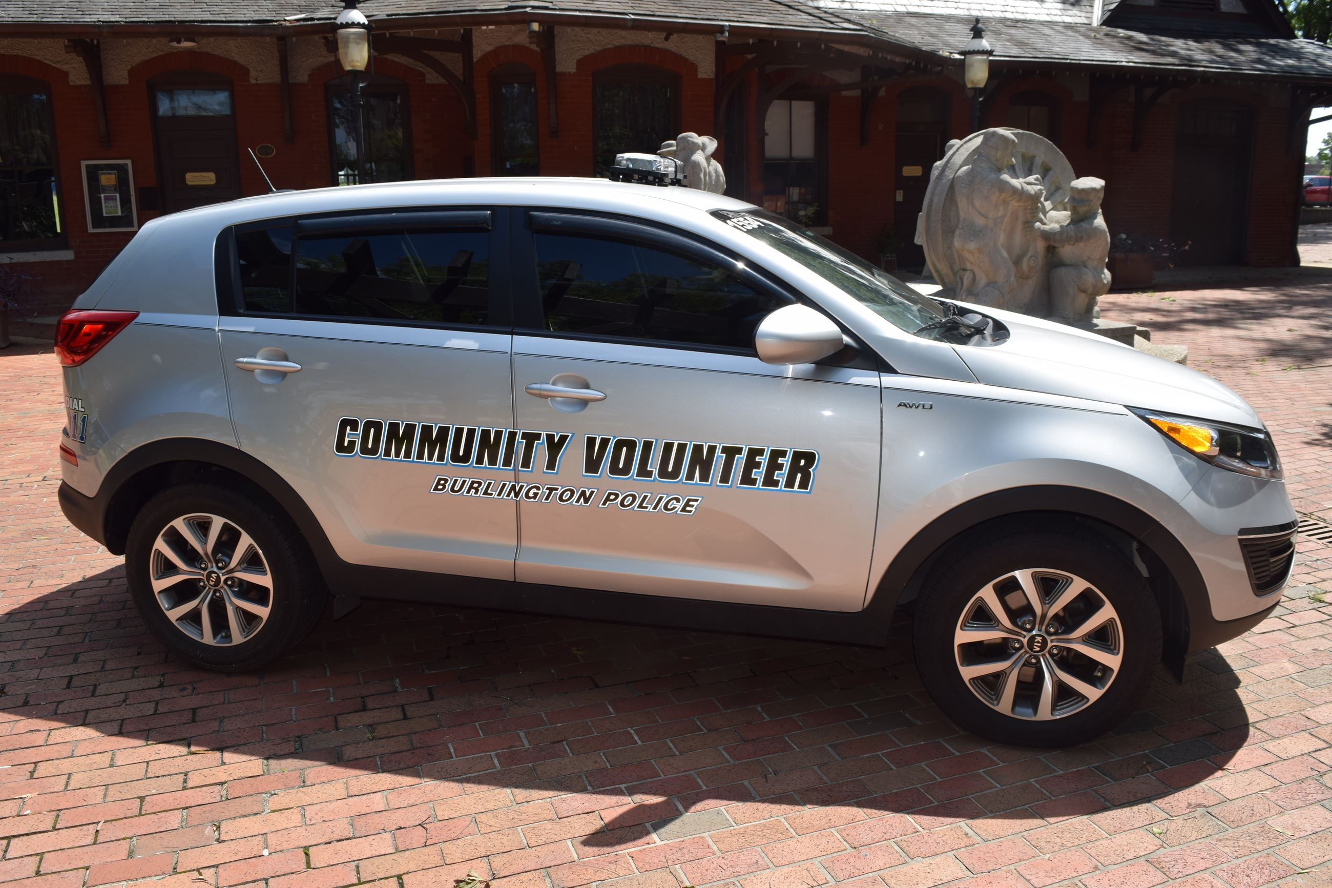 Community Relations Officer Vehicle