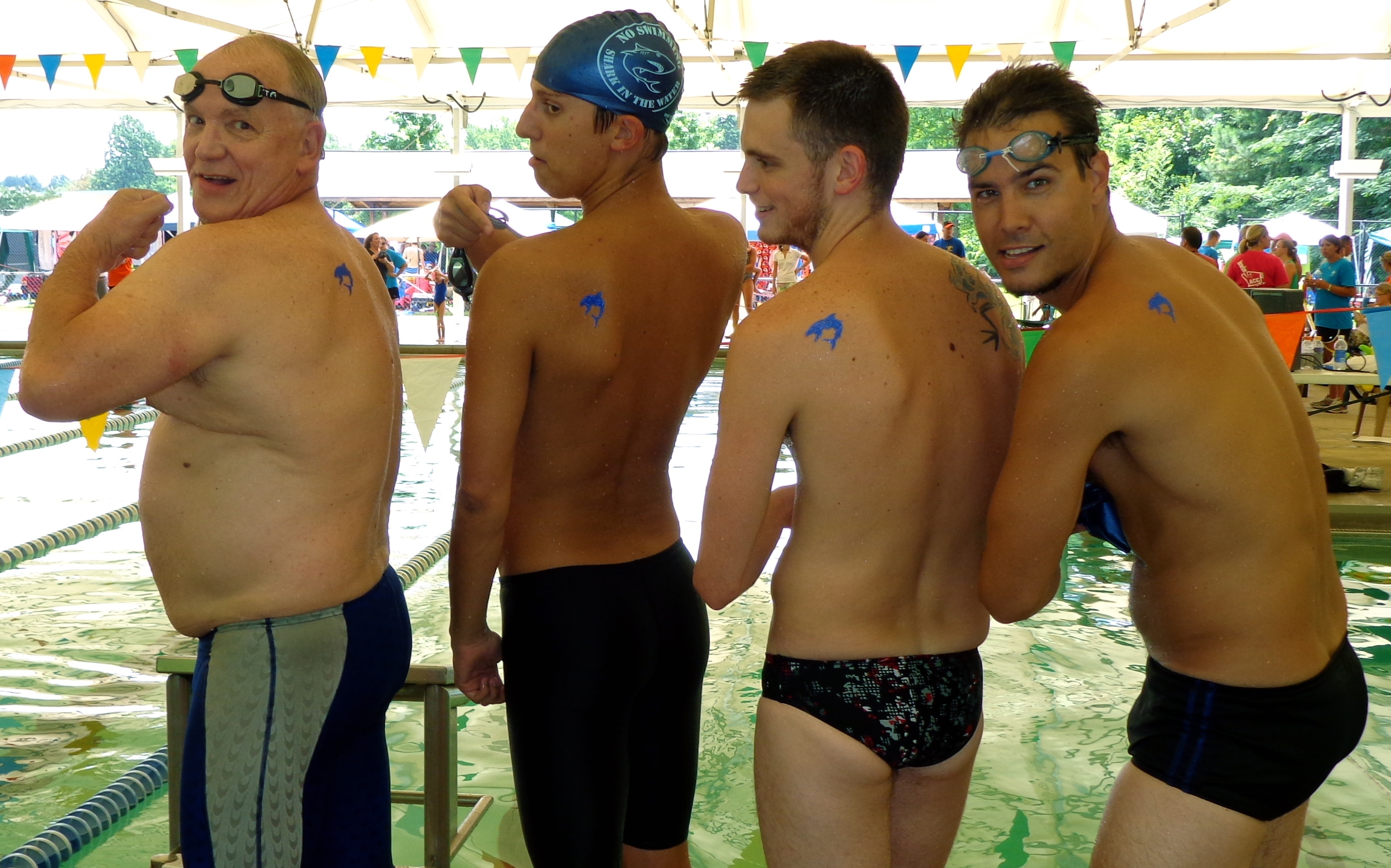 COBA Summer Swim Team Program Coaches' Relay 2012