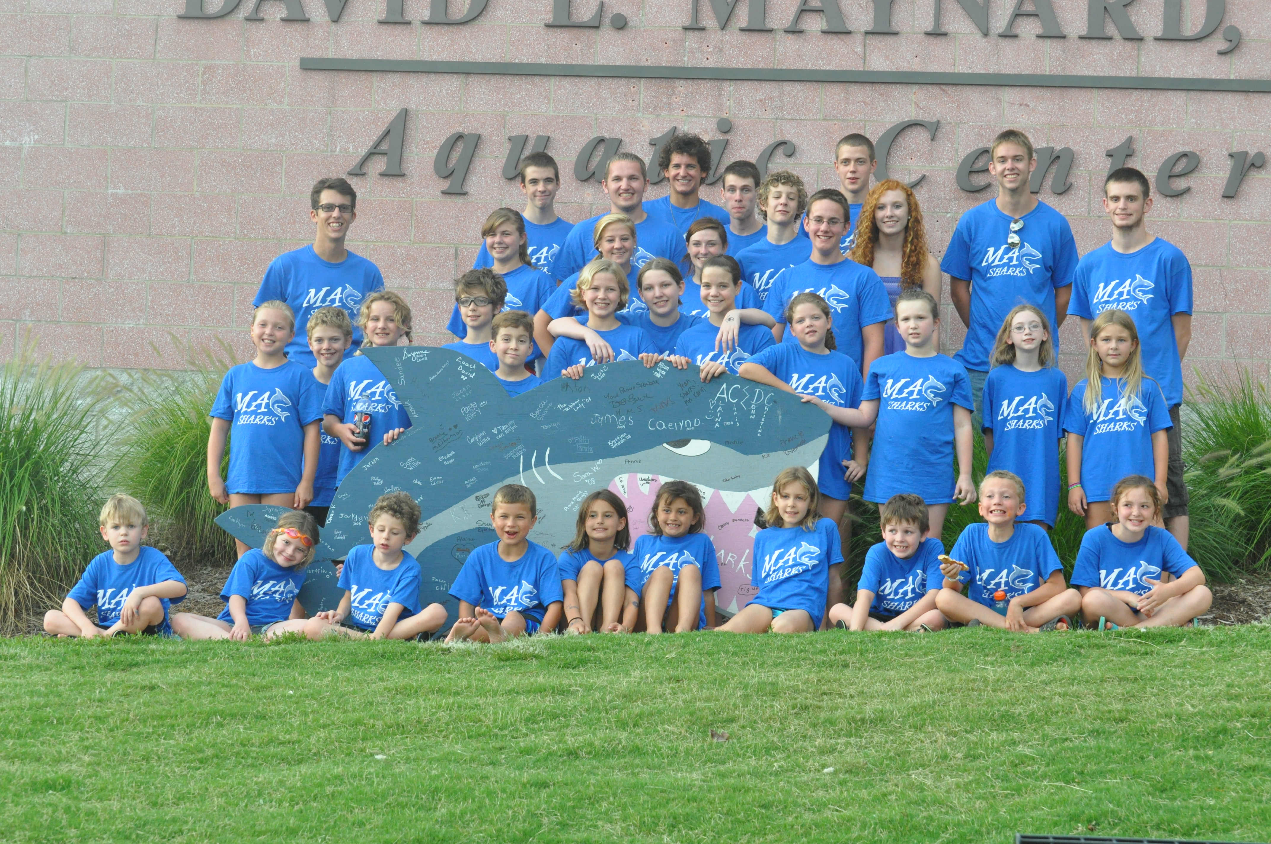 COBA Summer Swim Team Program 2012 Team Photo