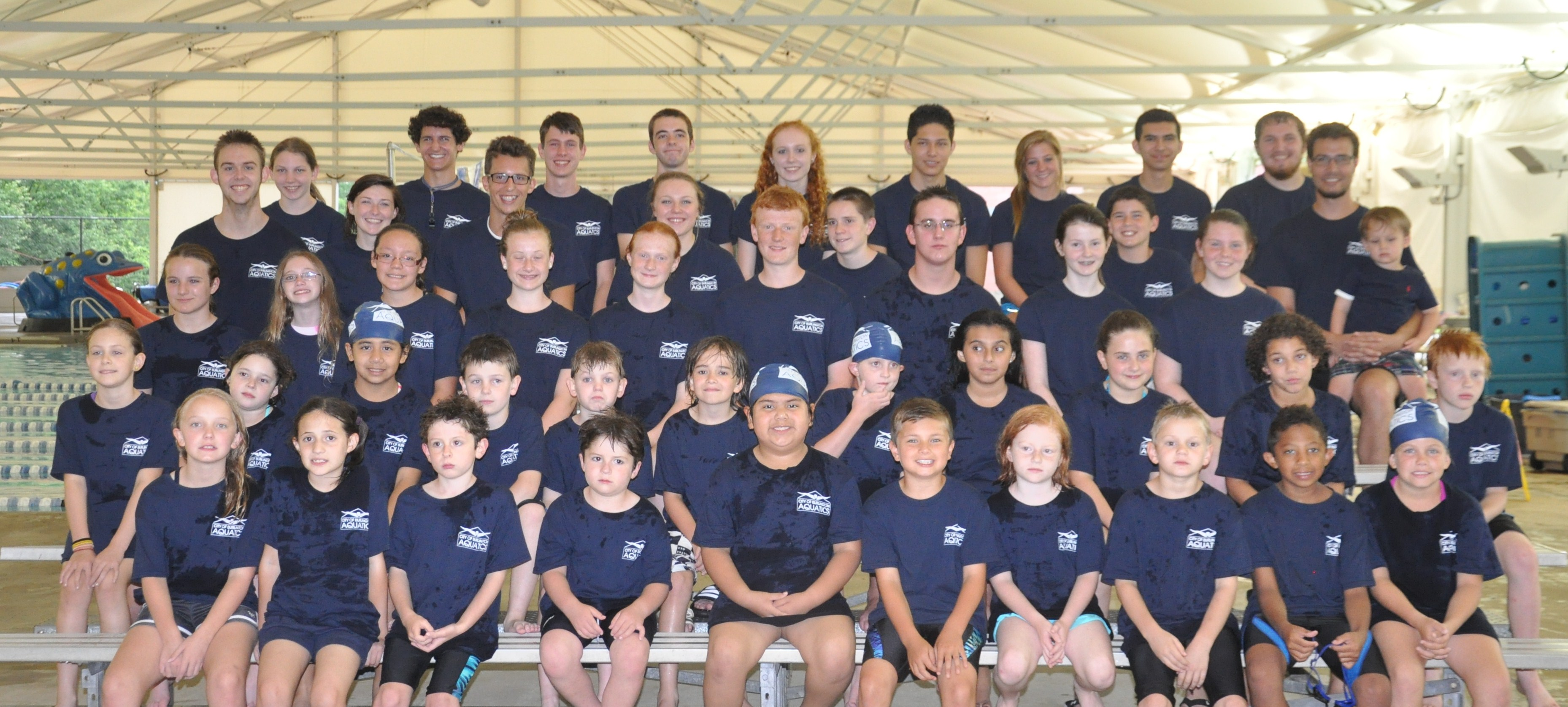 COBA Dragons Summer Swim Team Program team Photo