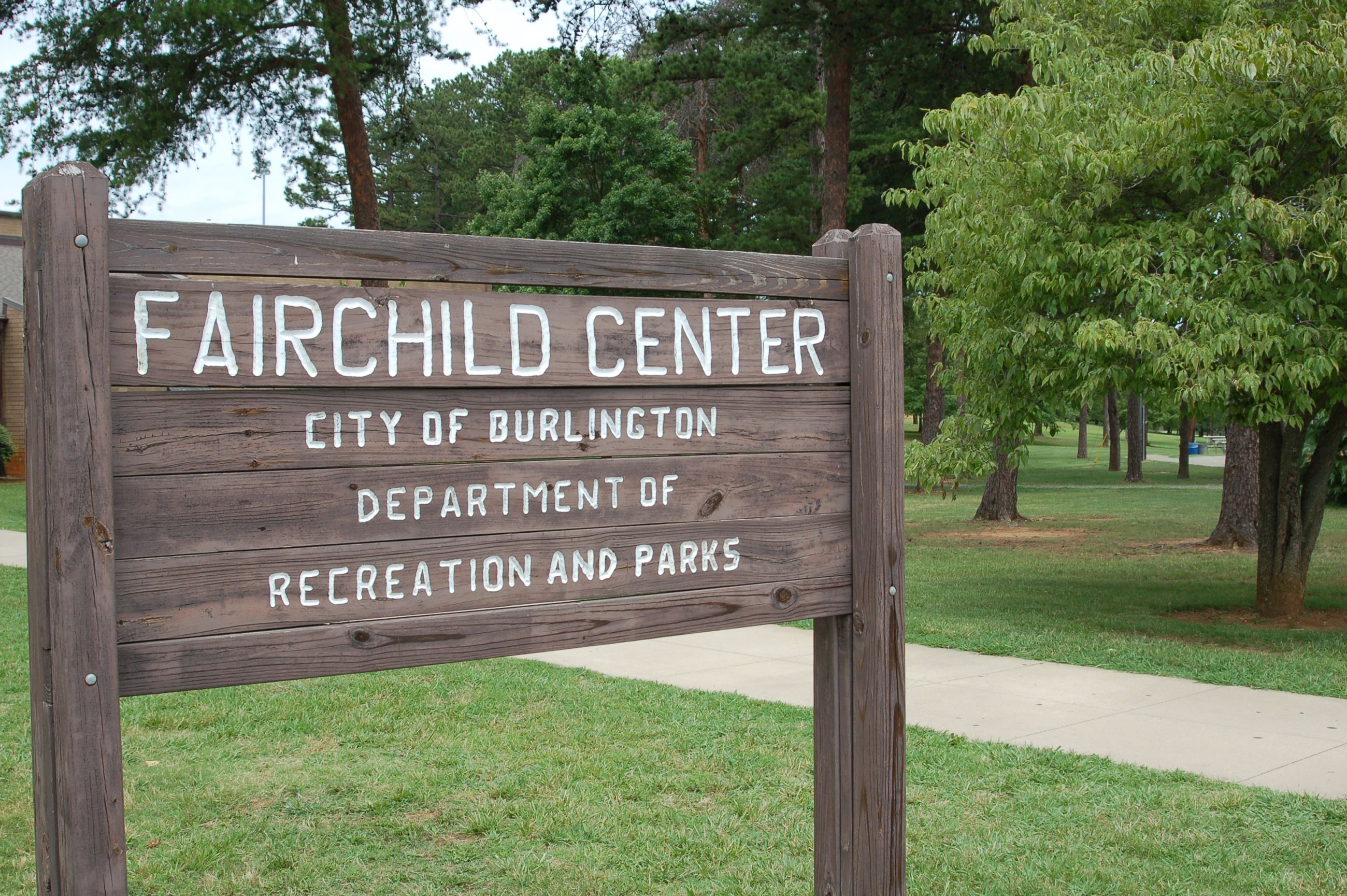 Fairchild Community Center | Burlington, NC - Official Website