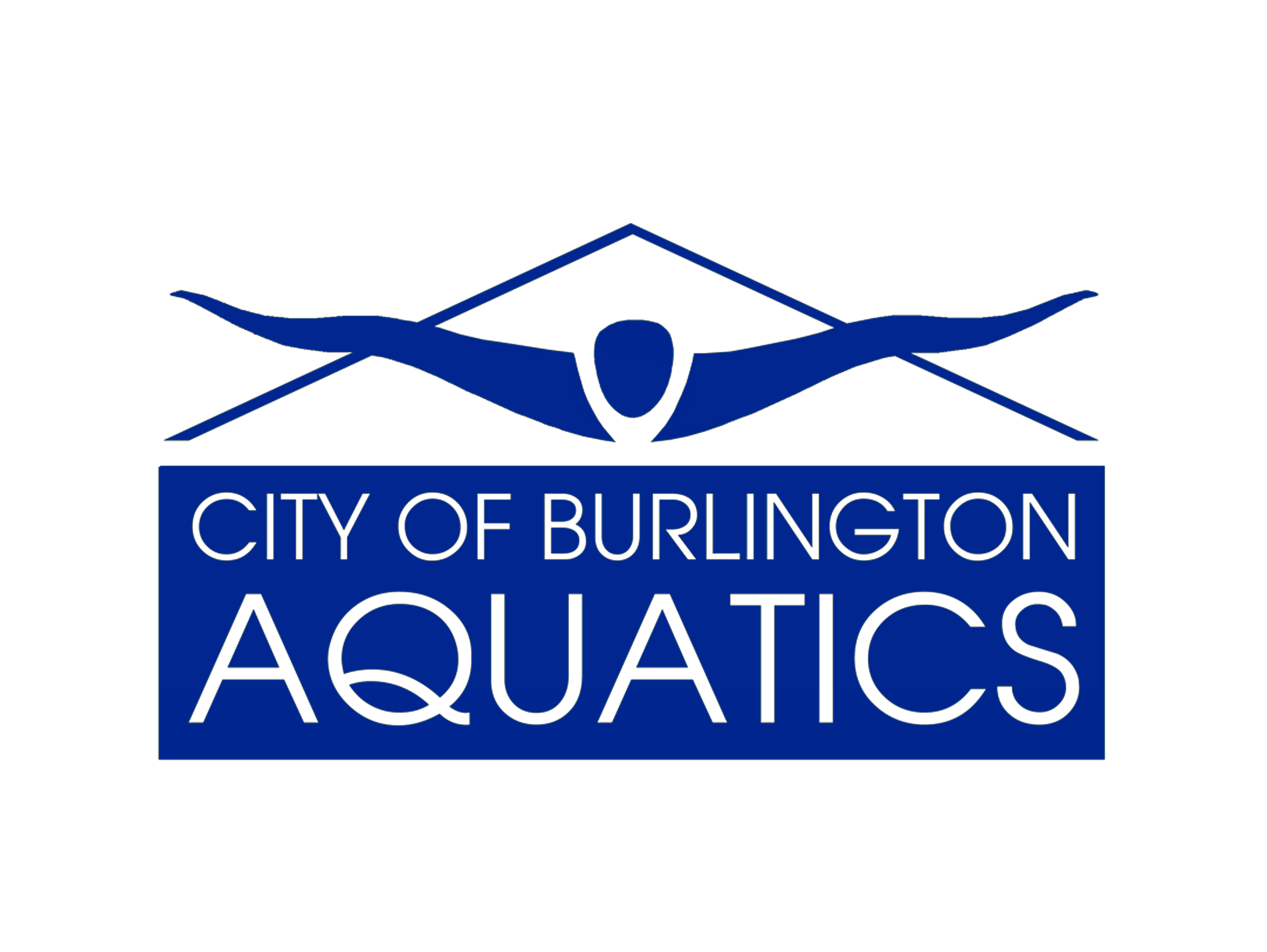 City of Burlington Aquatics Department Logo