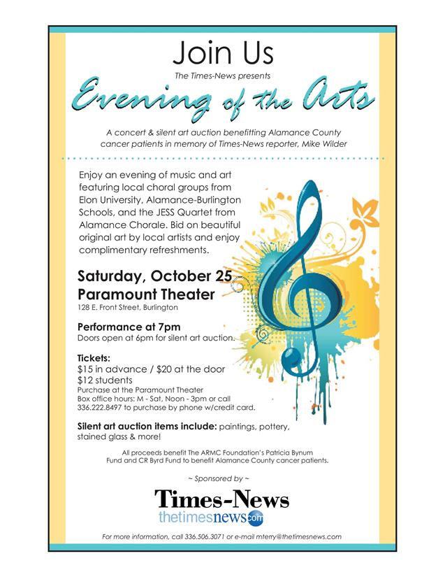 evening of the arts
