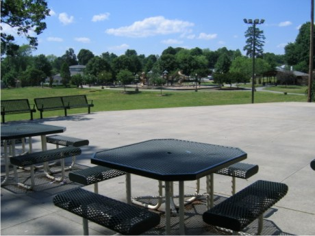 Patio View of the Park